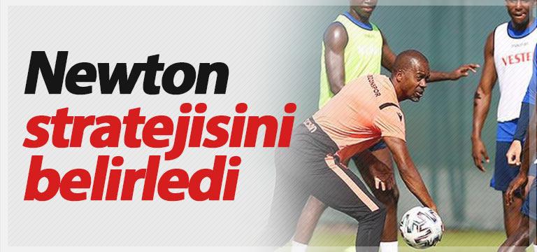Trabzonspor'da Newton stratejisini belirledi