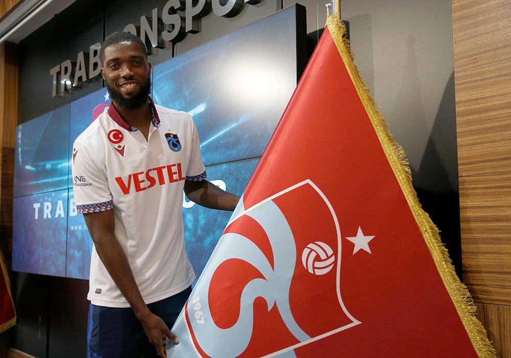 Trabzonspor'da Djaniny ve Hugo'ya imza töreni