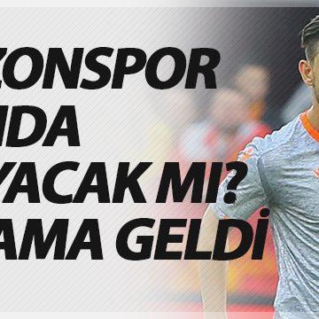 İrfan Can Kahveci Trabzonspor maçında oynayacak mı?