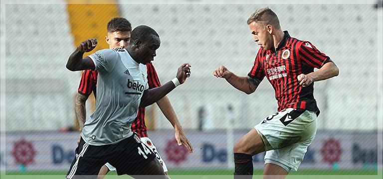 Beşiktaş Gençlerbirliğine mağlup