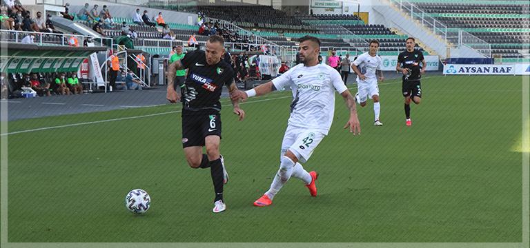Denizlispor Konyaspor maçında 1'er puan
