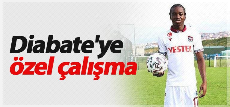 Trabzonspor'da Diabate'ye özel çalışma