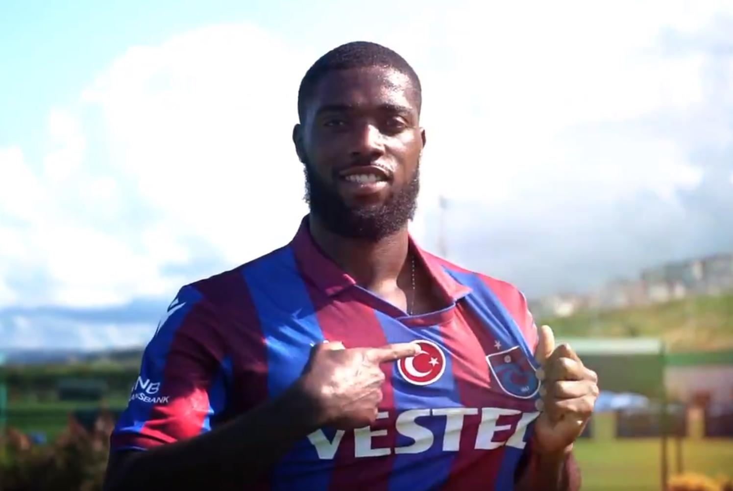 Trabzonspor'da Djaniny'den ilk mesaj!