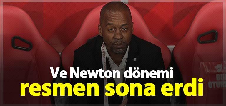 Trabzonspor'da Eddie Newton dönemi bitti!