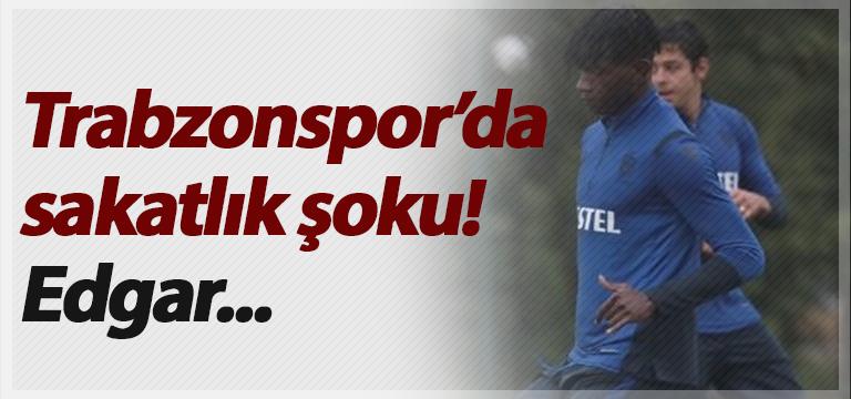 Trabzonspor'da sakatlık şoku! Edgar…
