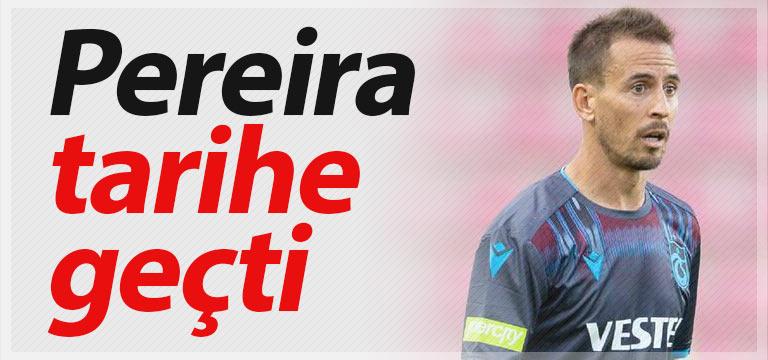 Trabzonspor'da Joao Pereira tarihe geçti