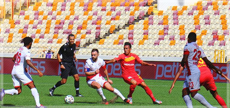 Yeni Malatyaspor tek golle 3 puanı aldı