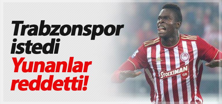 Trabzonspor istedi, Yunanlar'dan izin çıkmadı