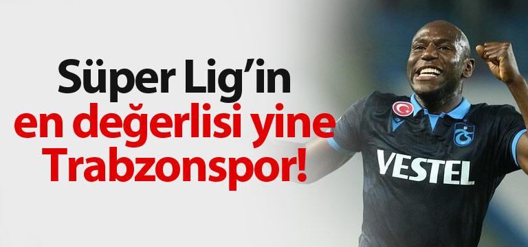 Ligin en değerlisi ve en genci Trabzonspor!