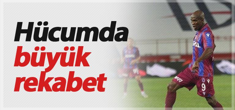 Trabzonspor'da hücumda rekabet var