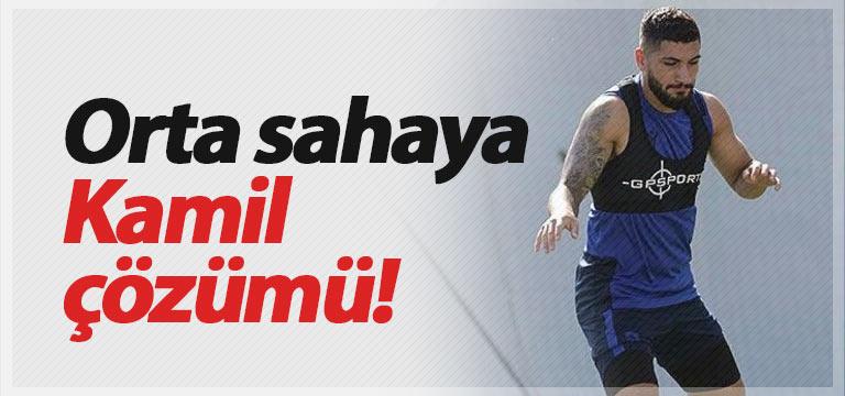 Trabzonspor'da Kamil Ahmet'e görev