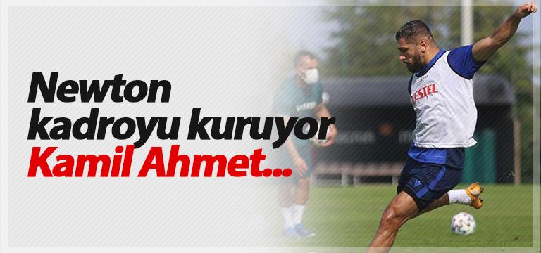 Trabzonspor'da Eddie Newton 11'ini belirledi