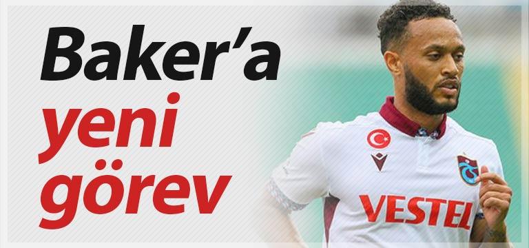 Trabzonspor'da Lewis Baker'ın yeri değişiyor
