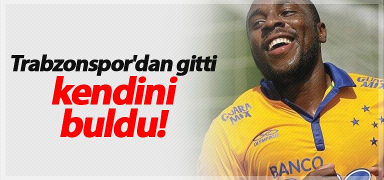 Trabzonspor'dan gitti kendini buldu!