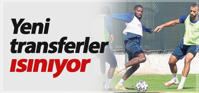 Trabzonspor'un yenileri 11'i hedefliyor