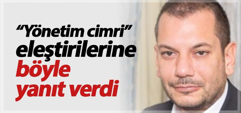 """Trabzonspor'dan """"cimri"""" eleştirilerine yanıt"""
