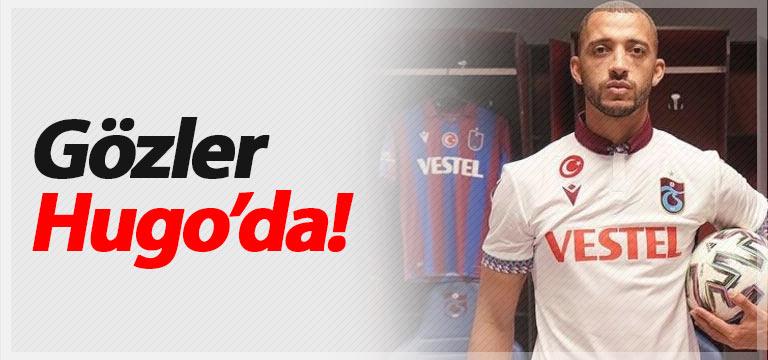 Trabzonspor'da gözler Vitor Hugo'da