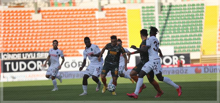 Trabzonspor Alanya'dan 1 puanla dönüyor
