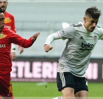 Beşiktaş tek golle 3 puanı aldı