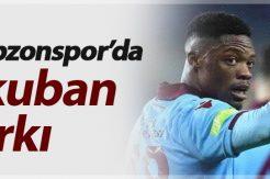 Ekuban Trabzonspor'da fark yarattı