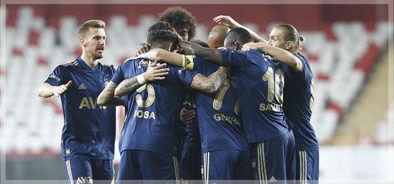 Fenerbahçe Antalyaspor'u mağlup etti