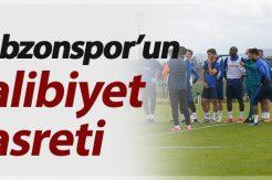 Trabzonspor'un galibiyet hasreti
