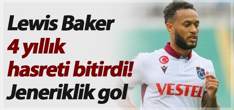Lewis Baker 4 yıllık hasreti bitirdi! Jeneriklik gol