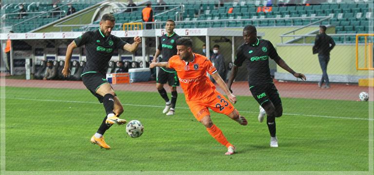 Başakşehir Konyaspor'u mağlup etti