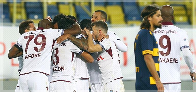 Trabzonspor bu sezon deplasmanda ilk kez…