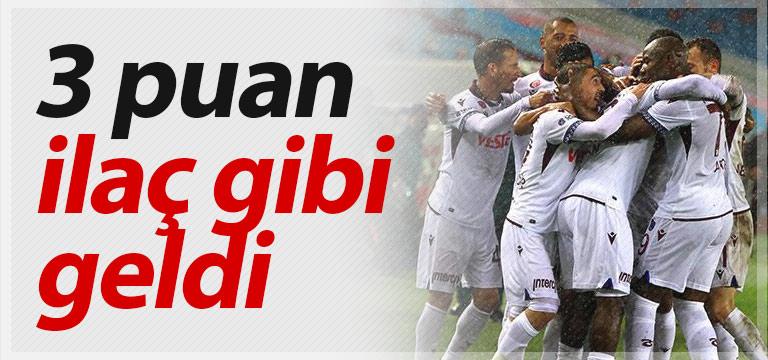 Galibiyet Trabzonspor'u rahatlattı