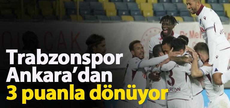 Trabzonspor Ankaragücü karşısında 1 attı 3 aldı