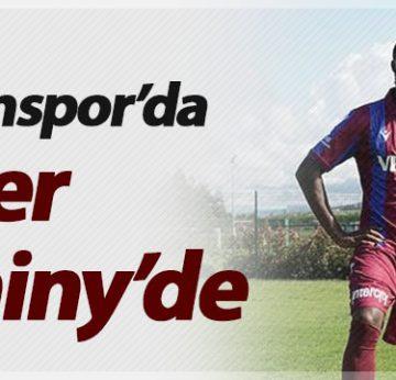 Trabzonspor'da gözler Djaniny'de