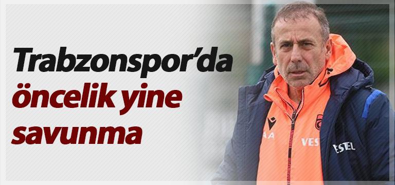Trabzonspor'da öncelik yine savunma