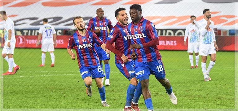 Trabzonspor'da Ekuban fırtınası