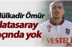 Abdülkadir Ömür Galatasaray maçında yok